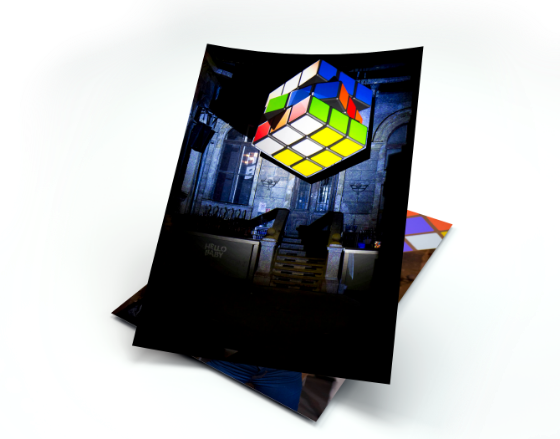 Tesco Rubik event solution picture